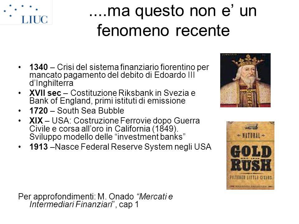 2.I prodotti della banca.