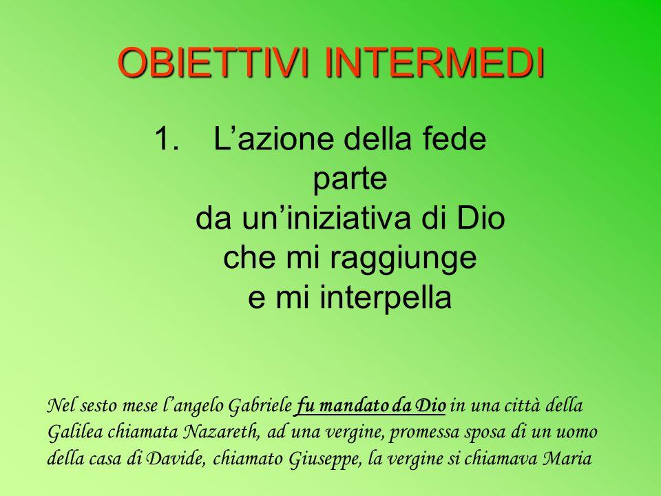 OBIETTIVI INTERMEDI 2.