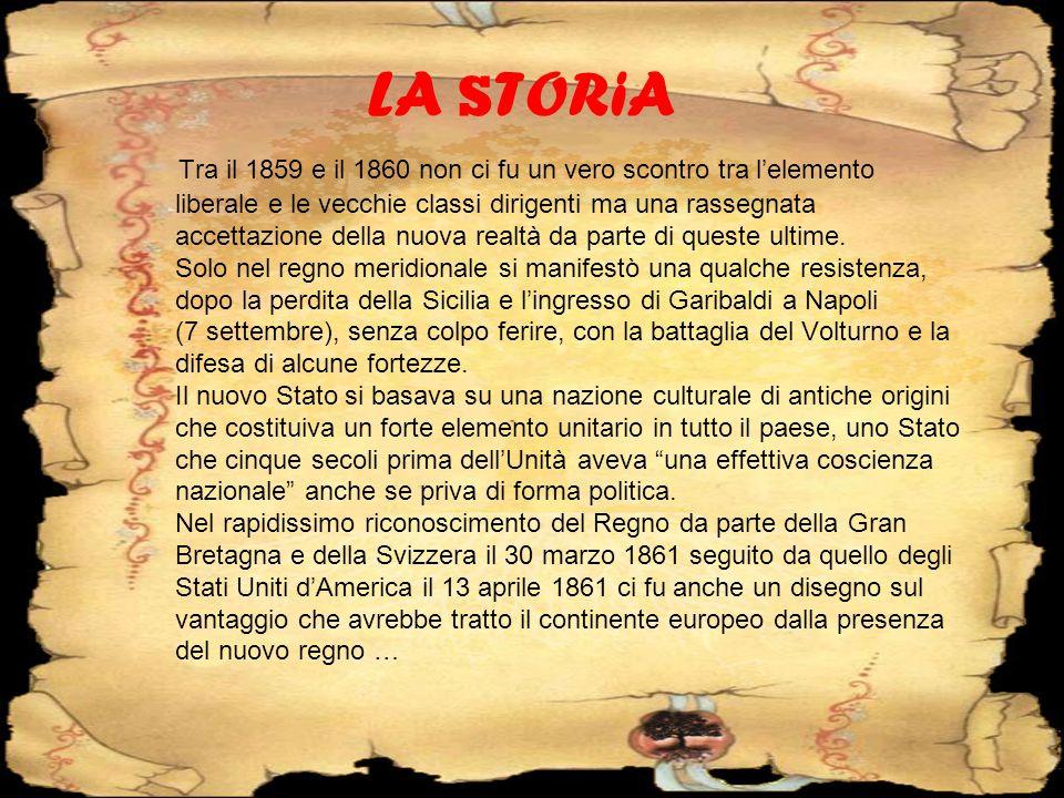 … Cominciò infatti a diffondersi la convinzione che lItalia unita avrebbe potuto costituire un elemento di stabilità per lintero continente.