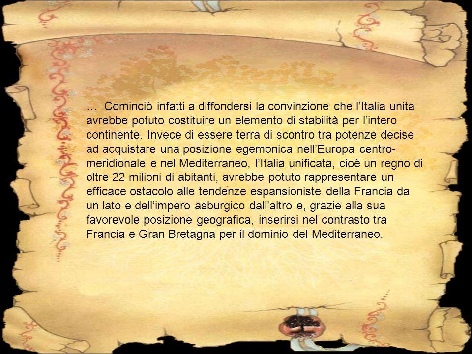 Il Regno d Italia nacque nel 1861 dopo l esito della seconda guerra di indipendenza e dopo i plebisciti degli altri territori.