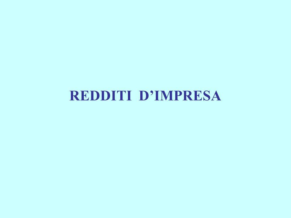 REDDITI DIMPRESA