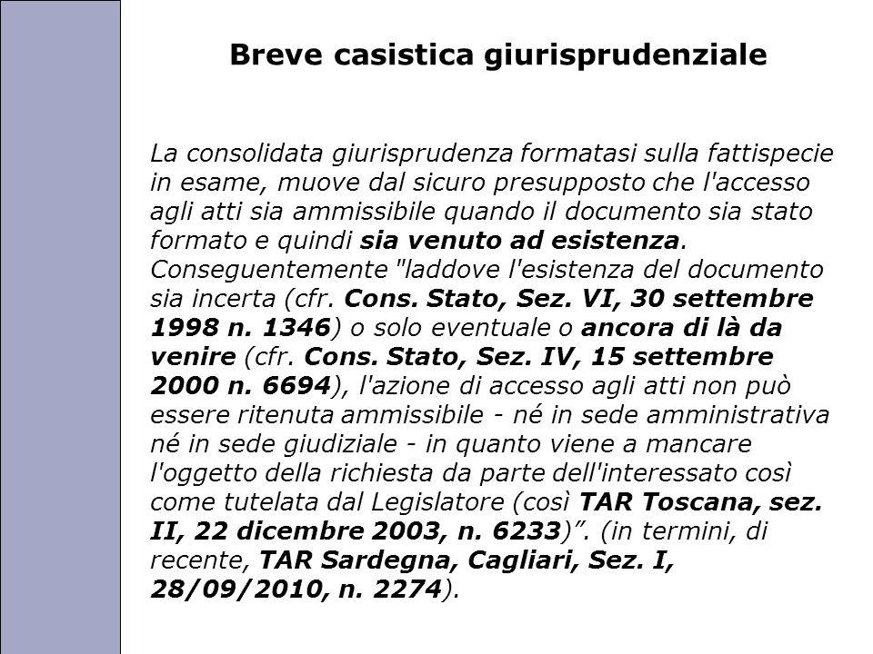 Università degli Studi di Perugia Breve casistica giurisprudenziale La consolidata giurisprudenza formatasi sulla fattispecie in esame, muove dal sicu