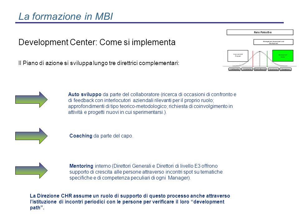 Il Piano di azione si sviluppa lungo tre direttrici complementari: Auto sviluppo da parte del collaboratore (ricerca di occasioni di confronto e di fe