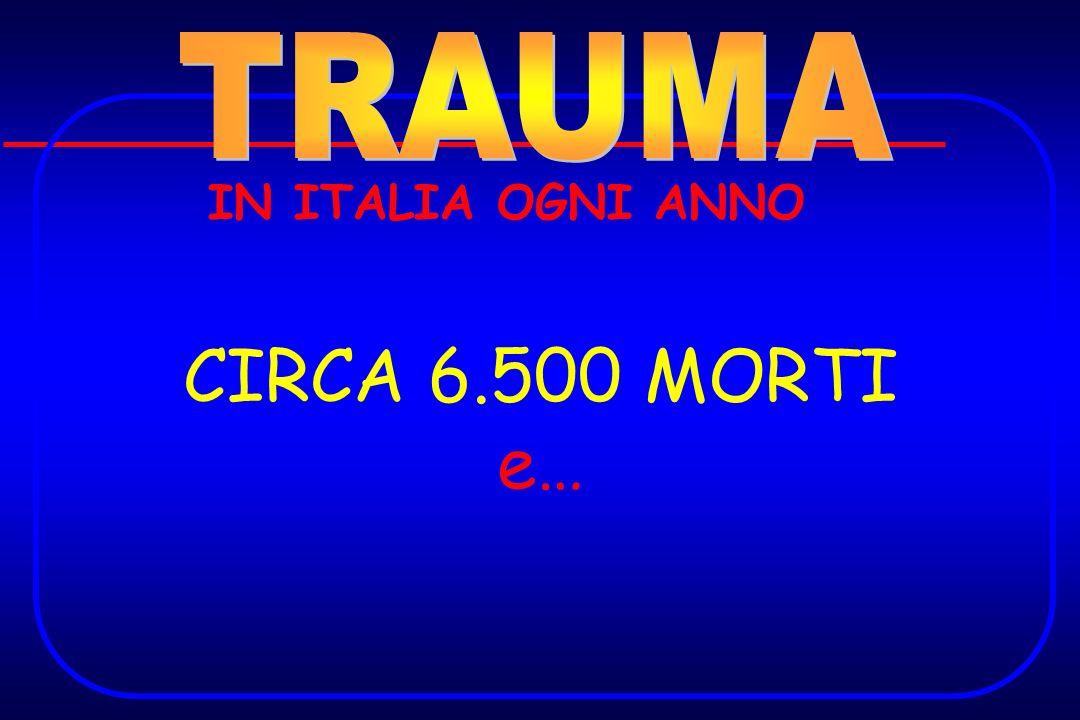 IN ITALIA OGNI ANNO CIRCA 6.500 MORTI e…