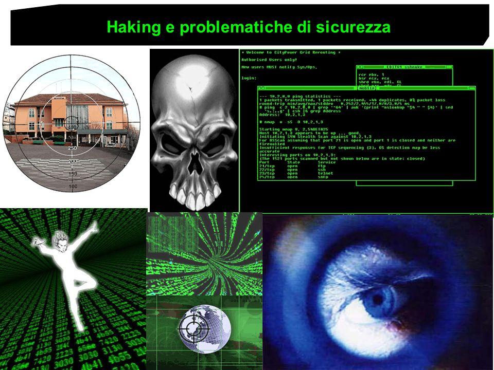 Haking e problematiche di sicurezza