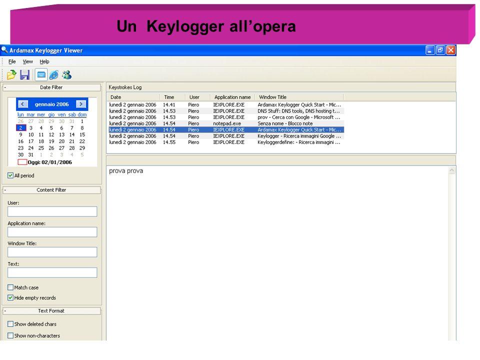 Un Keylogger allopera