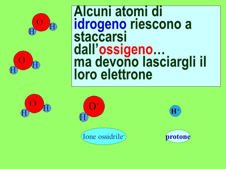 …LIDROGENO lossigeno è un seduttore: la sua elevata affinità per gli elettroni attira irresistibilmente lidrogeno con il quale forma un composto stabi