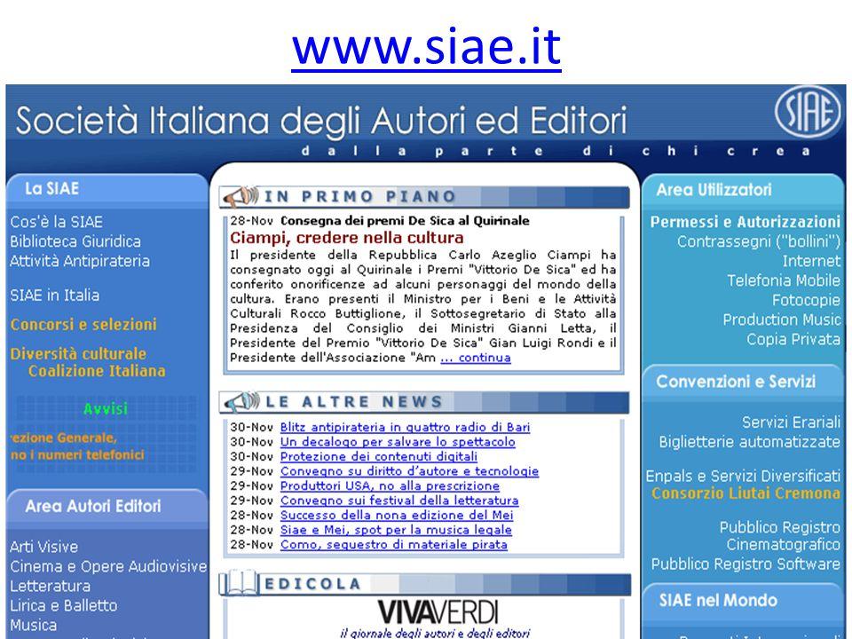 www.siae.it