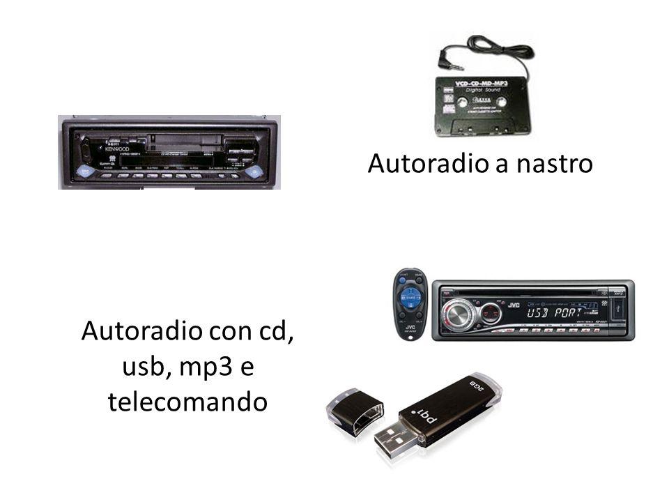 Autoradio a nastro Autoradio con cd, usb, mp3 e telecomando