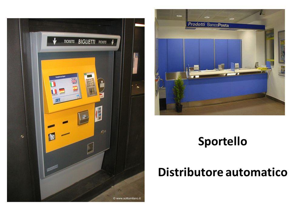 Sportello Distributore automatico