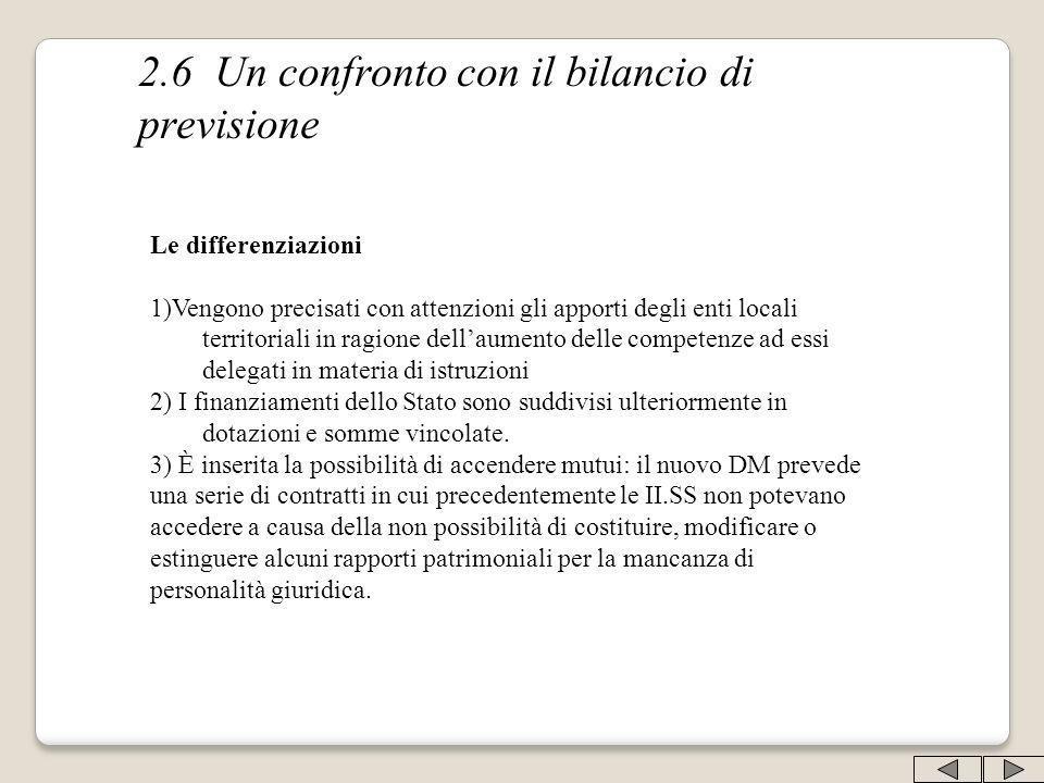 Le differenziazioni 1)Vengono precisati con attenzioni gli apporti degli enti locali territoriali in ragione dellaumento delle competenze ad essi dele