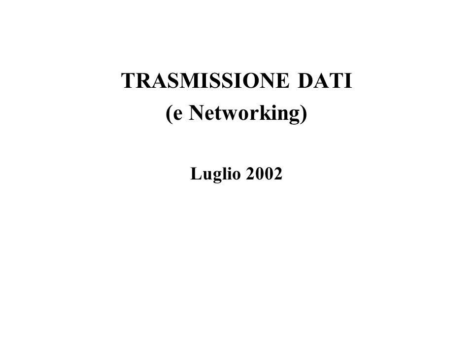 TRASMISSIONE DATI (e Networking) Luglio 2002