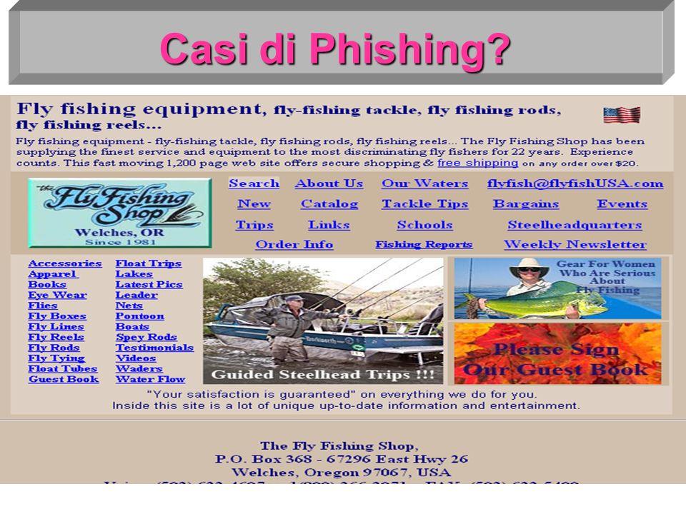 Casi di Phishing?