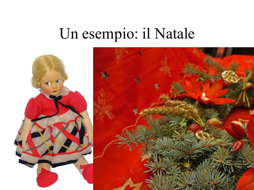 Un esempio: il Natale Bamboline, natale e altro