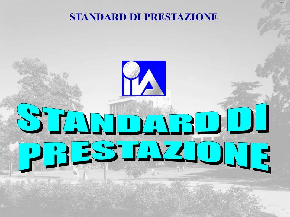 m&m STANDARD DI PRESTAZIONE