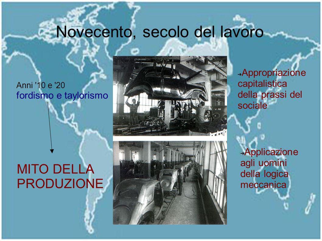 Cenni storici: dalla degenerazione del concetto di lavoro nel 900 alla risposta del club di roma del 72 Che cos'è lo sviluppo sostenibile: come si mis