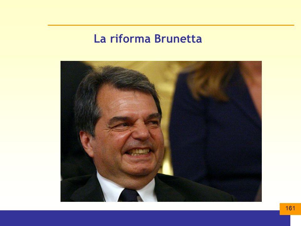 161 La riforma Brunetta