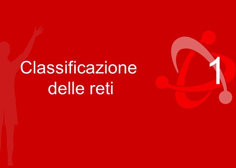 Regioni Emilia-Romagna, Campania, Liguria, Marche, Toscana 1 Classificazione delle reti
