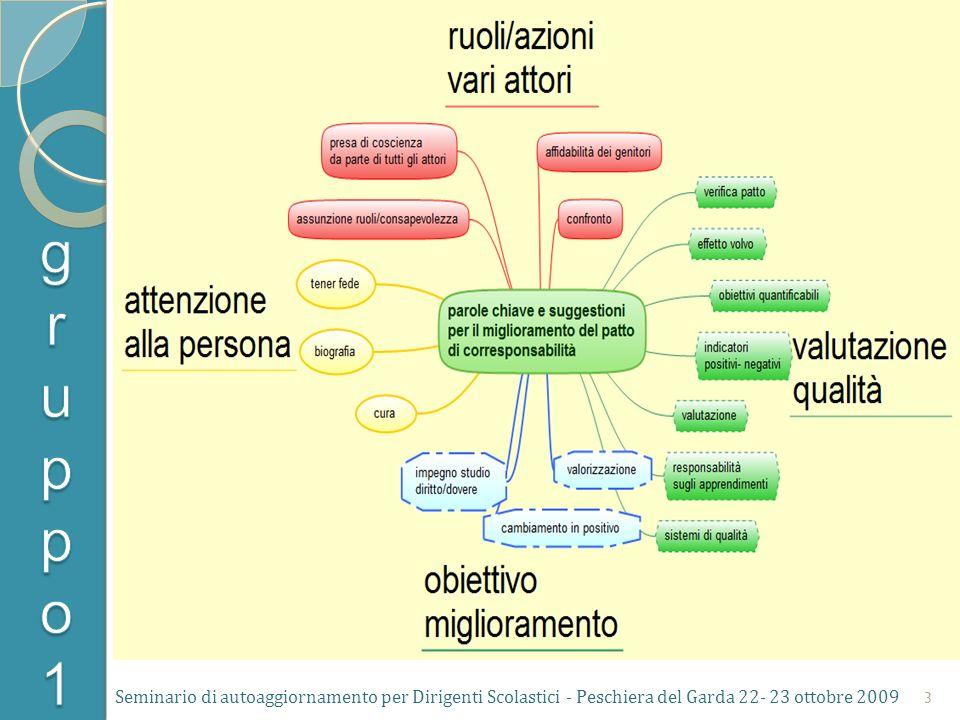 Seminario di autoaggiornamento per Dirigenti Scolastici - Peschiera del Garda 22- 23 ottobre 2009 3