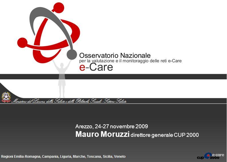 Arezzo, 24-27 novembre 2009 Mauro Moruzzi direttore generale CUP 2000