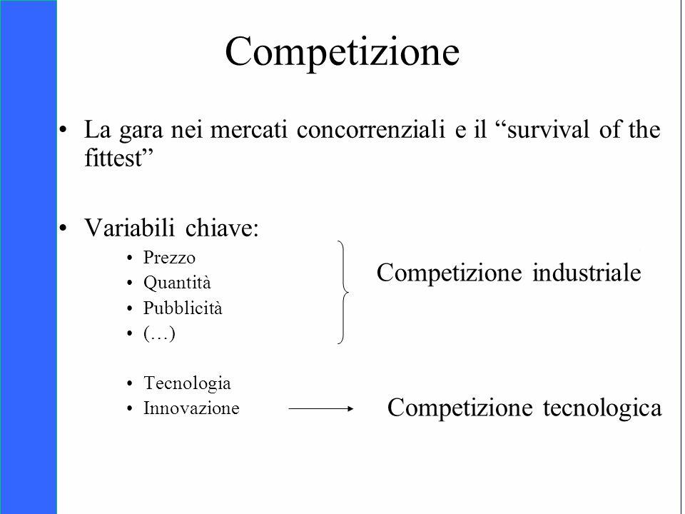 Copyright SDA Bocconi 2005 Competing Technologies, Network Externalities …n 4 Competizione La gara nei mercati concorrenziali e il survival of the fit