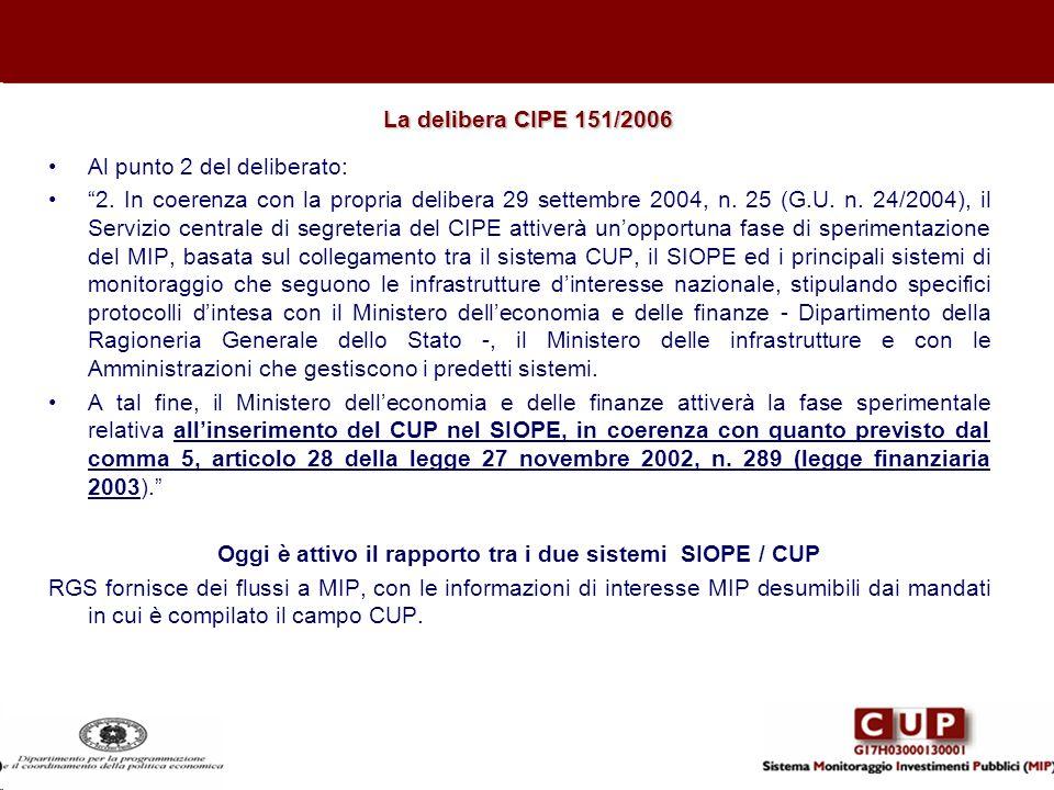 Al punto 2 del deliberato: 2. In coerenza con la propria delibera 29 settembre 2004, n. 25 (G.U. n. 24/2004), il Servizio centrale di segreteria del C