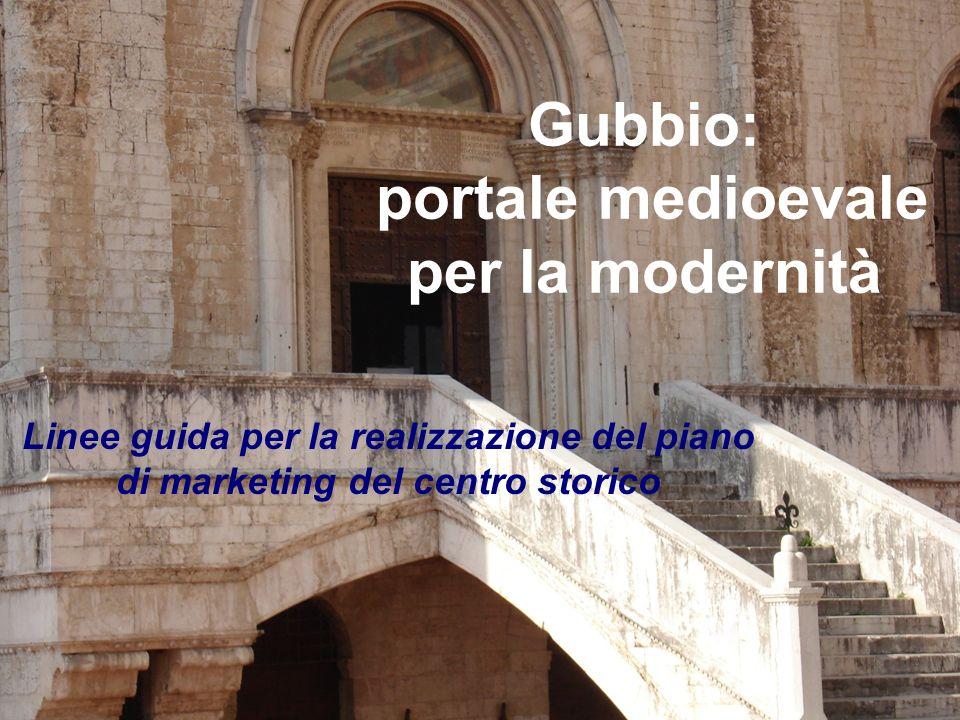 Gubbio: portale medioevale per la modernità Linee guida per la realizzazione del piano di marketing del centro storico