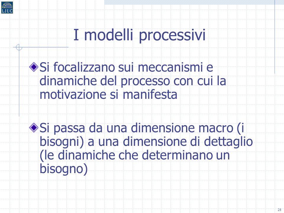 27 Le teorie processive