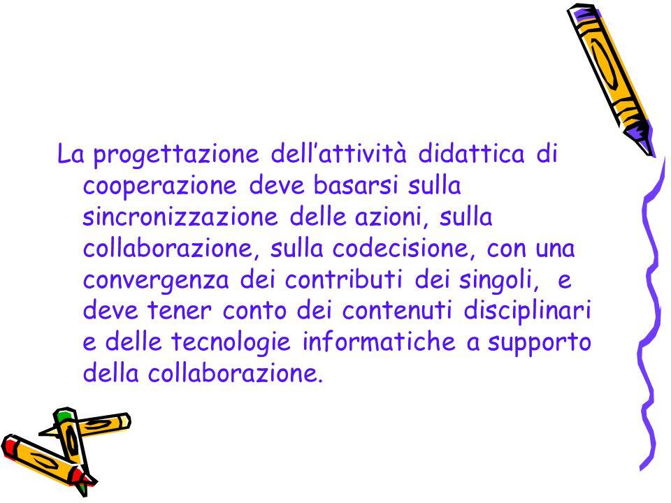 Collaborazione educativa Organizzare la collaborazione in rete Lattività didattica in rete consente di comunicare e collaborare a distanza, attraverso