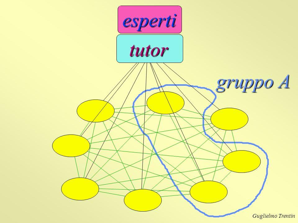 gruppo A esperti tutor