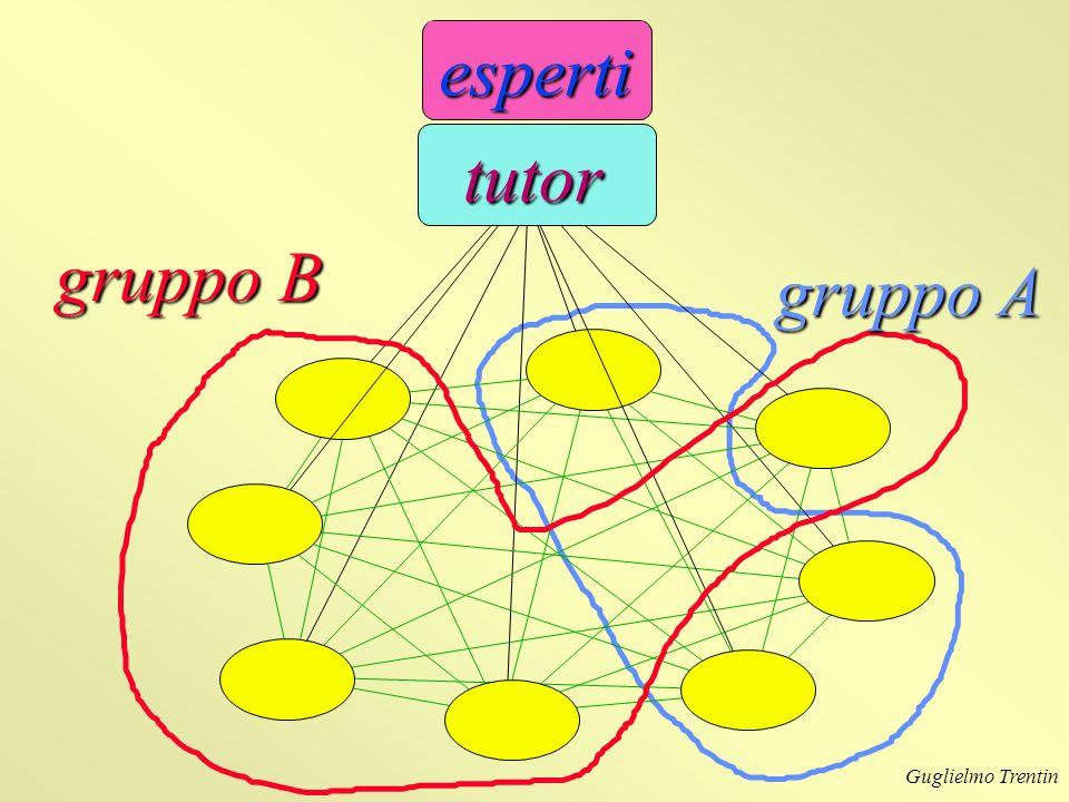 Guglielmo Trentin gruppo B gruppo A esperti tutor