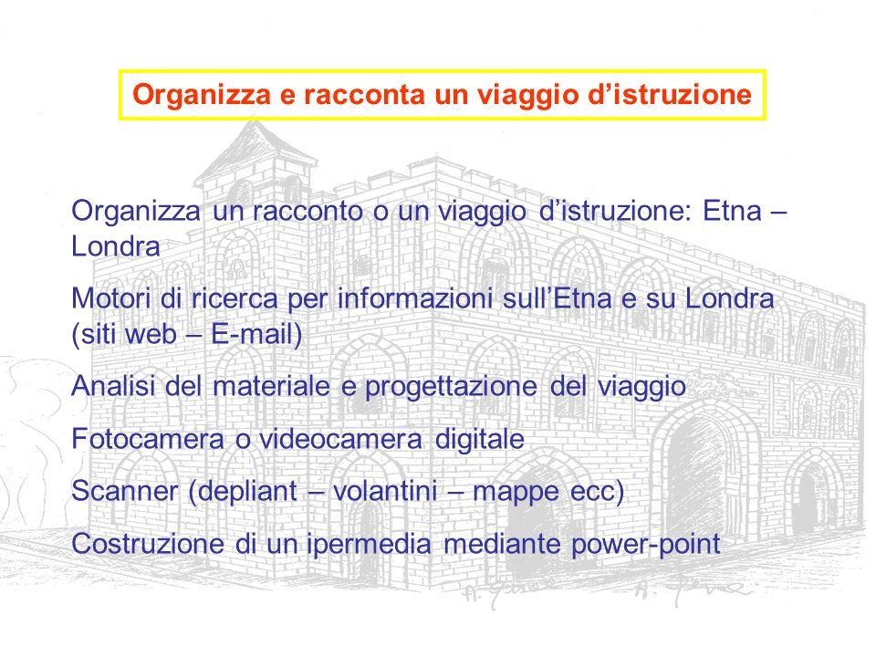 Organizza un racconto o un viaggio distruzione: Etna – Londra Motori di ricerca per informazioni sullEtna e su Londra (siti web – E-mail) Analisi del