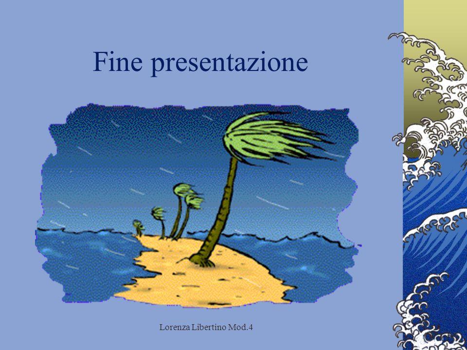 Lorenza Libertino Mod.4 Fine presentazione