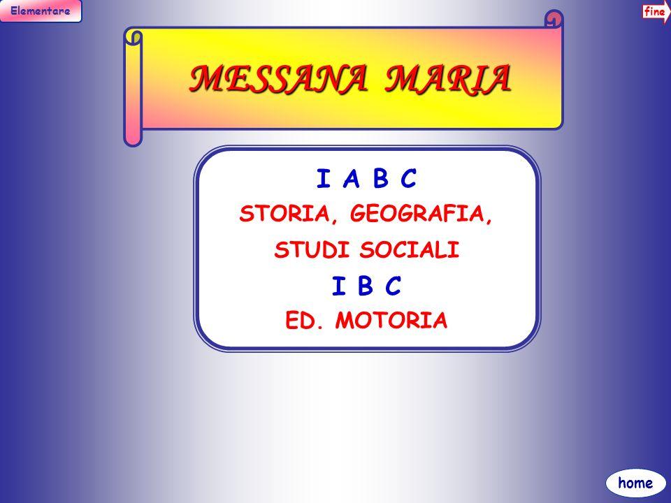fine Elementare home PALAZZOLO ANTONELLA III A B STORIA, GEOGRAFIA, STUDI SOCIALI, ED.