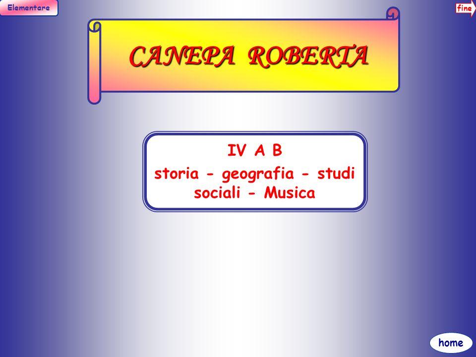 fine Elementare home CAROLLO FILIPPA III A B MATEMATICA, SCIENZE, MOTORIA