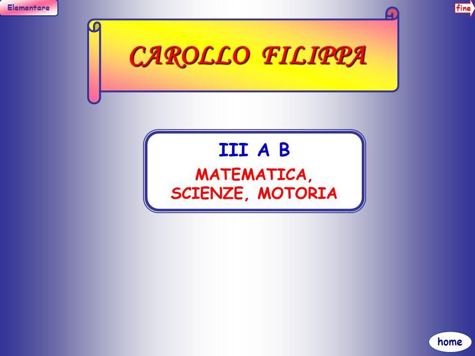 fine Elementare home CASCIO A. MARIA III A B, V A B FRANCESE I A B C, II A B INFORMATICA