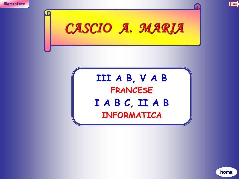 fine Elementare home CURCURU GIUSEPPA I A B C INGLESE I B C SCIENZE I A ITALIANO, ED.