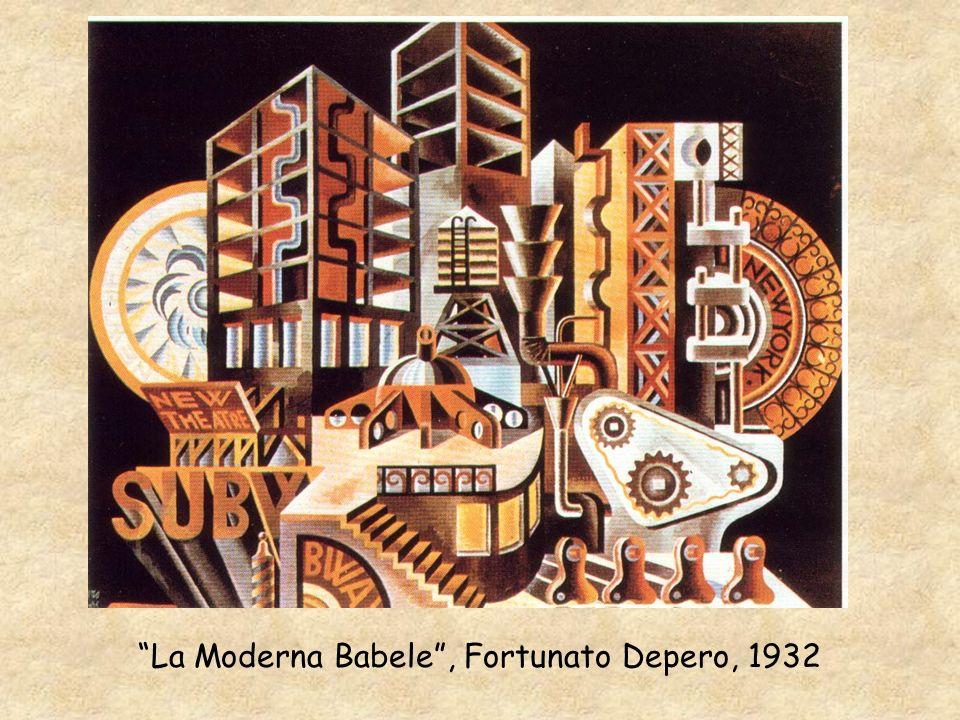 La Moderna Babele, Fortunato Depero, 1932
