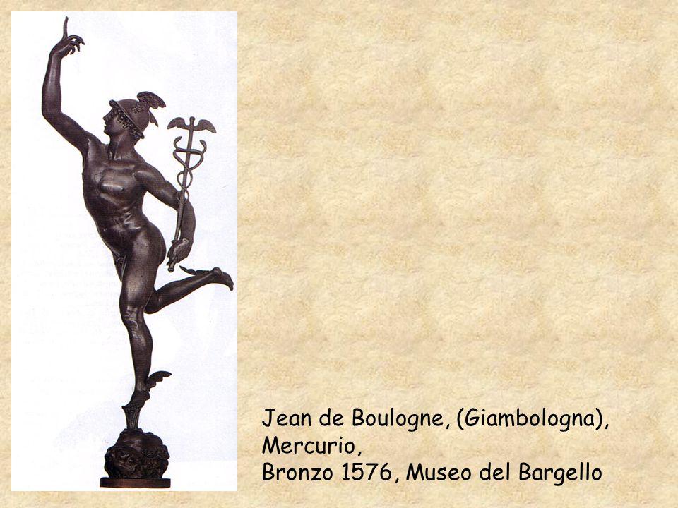 Jean de Boulogne, (Giambologna), Mercurio, Bronzo 1576, Museo del Bargello