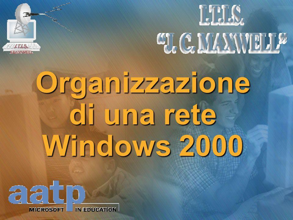 Organizzazione di una rete Windows 2000