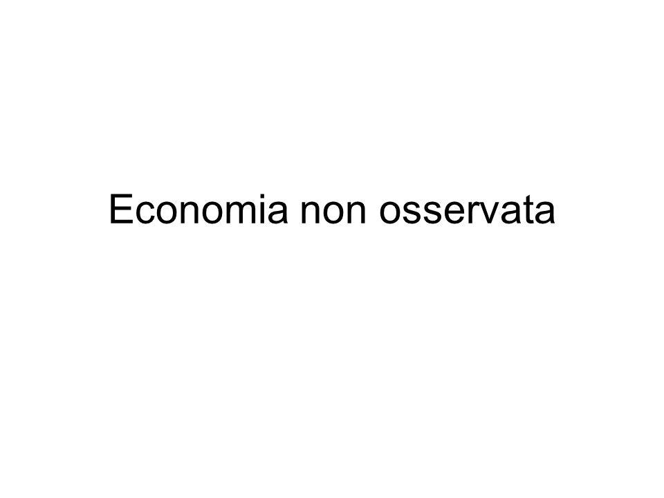 92 fig. 3.1. - Peso degli occupati non regolari in Italia (valori percentuali)