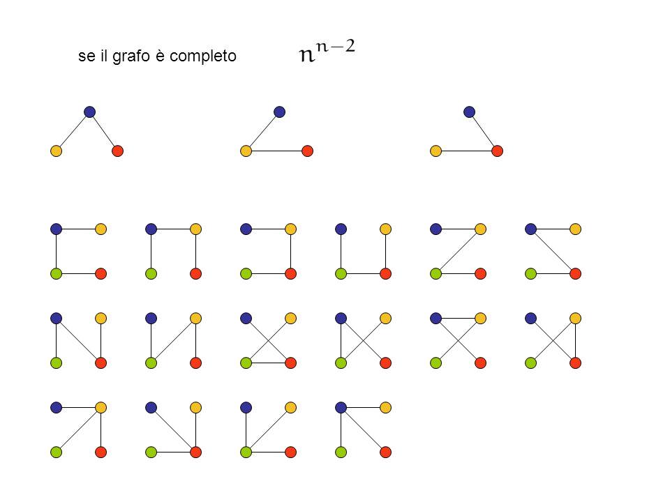 se il grafo è completo