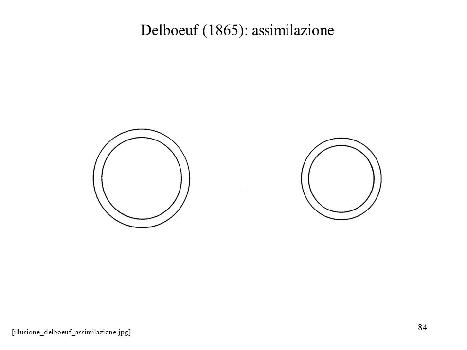 84 Delboeuf (1865): assimilazione [illusione_delboeuf_assimilazione.jpg]