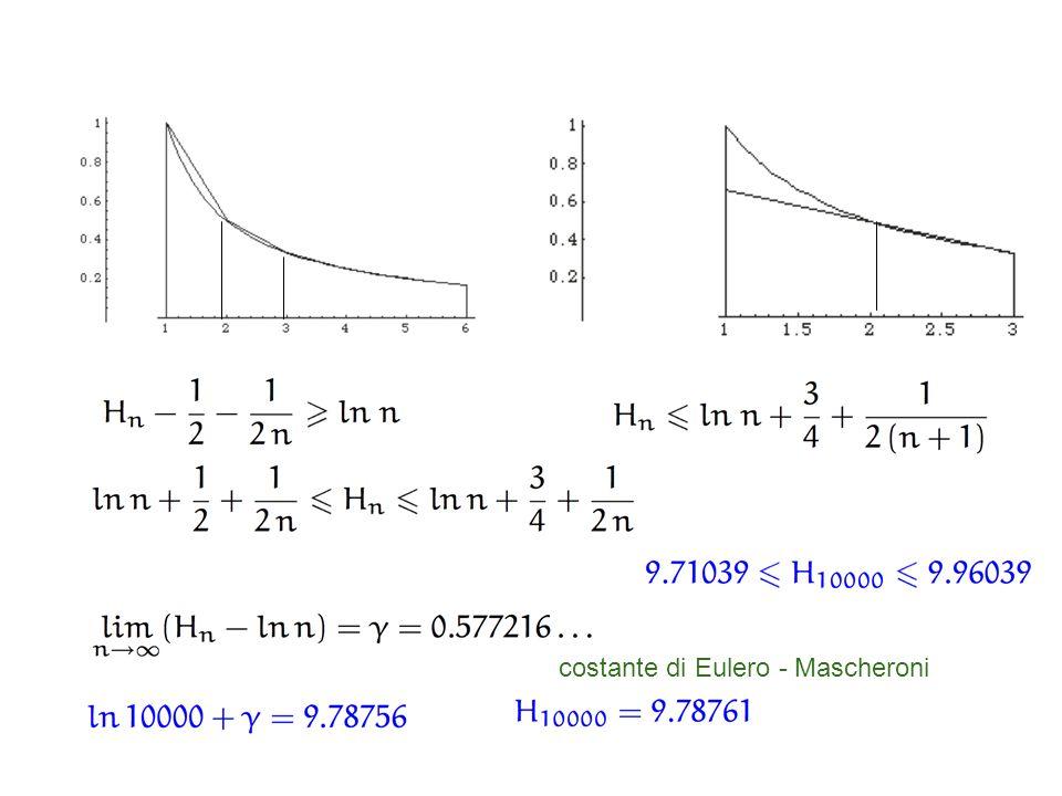 costante di Eulero - Mascheroni