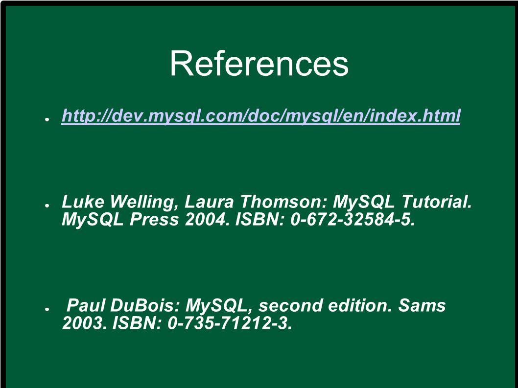 Luso di MySQL (8) dove : select_expression.Indica le colonne che si vogliono restituire.