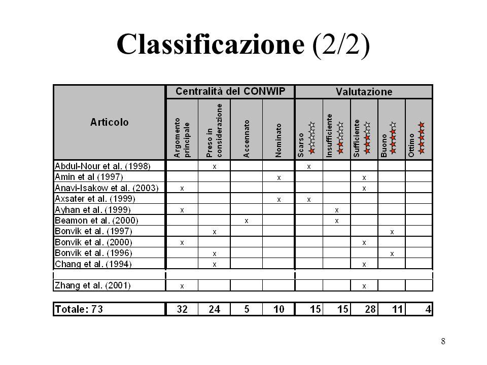 8 Classificazione (2/2)