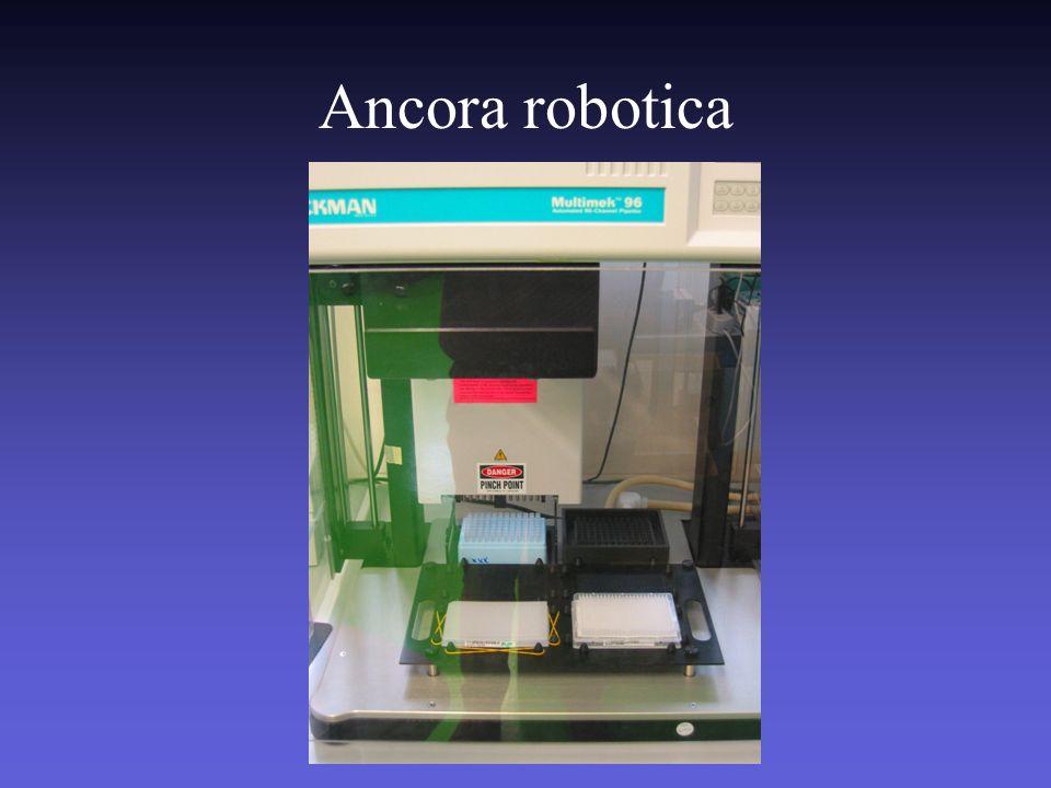 Automazione 48 campioni DNA ogni 35 minuti, 2000 al giorno senza intervento operatore