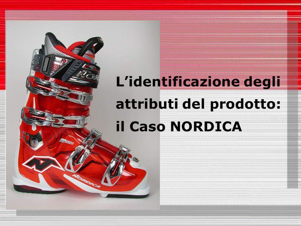 Lidentificazione degli attributi del prodotto: il Caso NORDICA