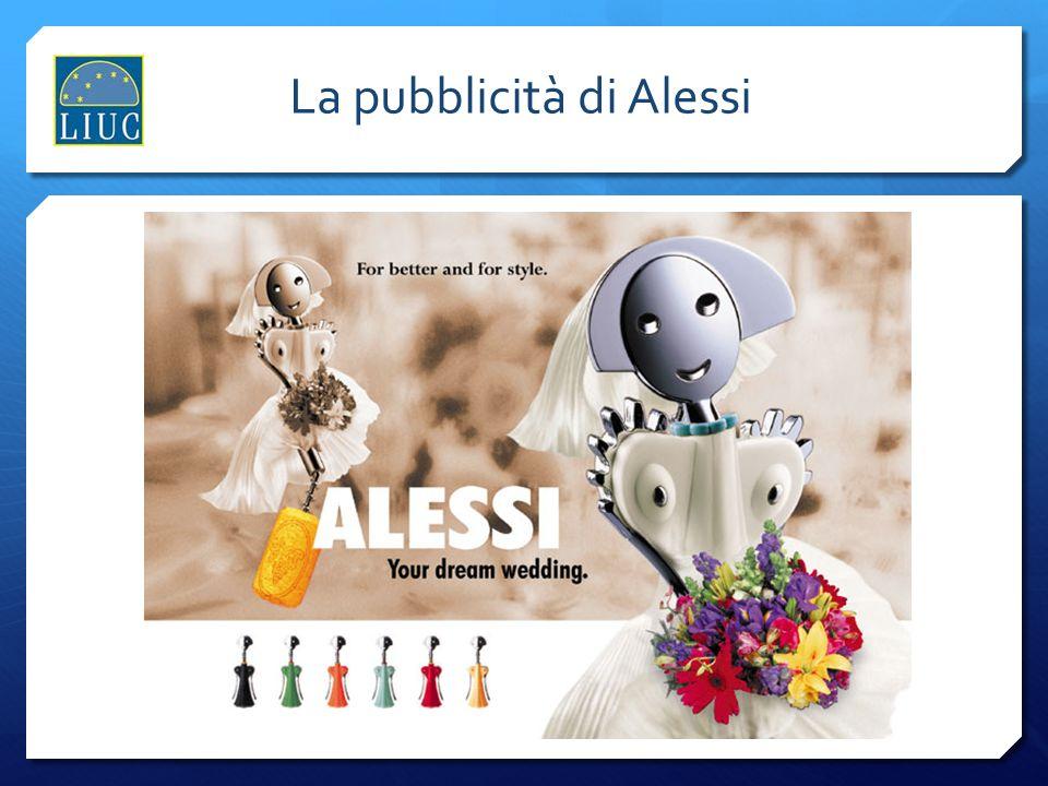 La pubblicità di Alessi
