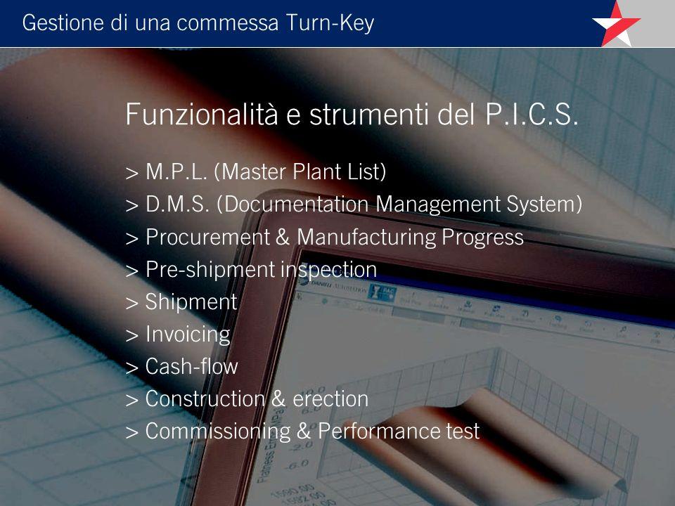 Gestione di una commessa Turn-Key > M.P.L.(Master Plant List) > D.M.S.